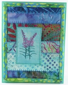 fireweed card - on the trail creations