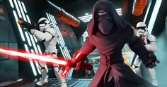 'Star Wars 7' Disney Infinity 3.0 Figures & Photos Unveiled -- 'Star Wars: The Force Awakens' character Poe Dameron and Kylo Ren are revealed in new images from the Disney Infinity 3.0 play set. -- http://movieweb.com/star-wars-7-force-awakens-figures-photos-disney-infinity/