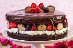 Receita de Naked Cake Sonho de Valsa Sonho de Valsa