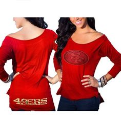 San Francisco 49ers Cuce Women's Ultimate Team Long Sleeve T-Shirt - Scarlet