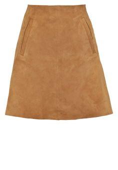 Wood Wood SIDNEY Spódnica trapezowa light brown