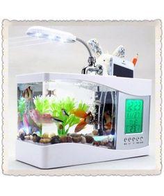USB Desktop Fish Aquarium