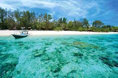 Beautiful beach at Gili Meno - Bali