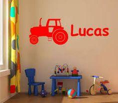 muurschildering tractor - Google zoeken