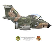 recon version of the F-101 Voodoo. A RF-101C from the 64th TRS / 460th TRW that flew mossions in Vietnam. Nose art Gerry's Clown ~ BFD