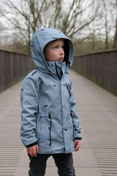 Lars parka by I Sew Blanche Boys Sewing Patterns, Kids Clothes Patterns, Sewing For Kids, Baby Sewing, Clothing Patterns, Boy Outfits, Sweater Outfits, Cool Kids Clothes, Kids Pants