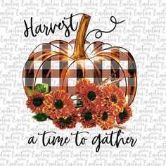 Harvest A Time To Gather no background PNG clipart instant Halloween Prints, Fall Halloween, Autumn Crafts, Holiday Crafts, Fall Background, Fall Cards, Custom Tumblers, Autumn Inspiration, Halloween Decorations