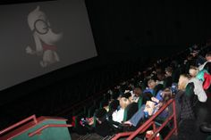 """Our kiddos had a great time today at the belated premiere of """"Mr. Peabody & Sherman"""" -- which was hosted by movie sponsor CCF Brands and originally was set for March 5. CCF obtained rights to hold a premiere -- which would have made our kids the first to see the movie -- until a winter storm intervened. But the CCF Brands gang still gave a our kids such a special day, complete with red carpet photo ops, free popcorn and drinks, Mr. Peabody dress-up kits and a private screening of the 3D…"""