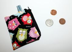 Owl coin purse by Enchantingcrafts on Etsy, £5.00