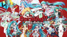 �MV】Burning!! / DIVELA ��音ミク GTプロジェクト 公�テーマソング】