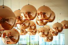 De lampen in ons bedrijfsrestaurant #lamp #interior
