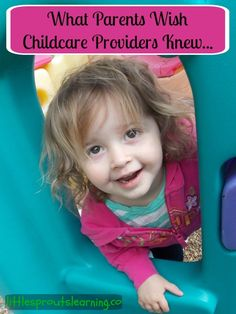 What Parents Wish Childcare Providers Knew...
