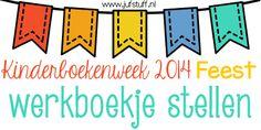 Juf-Stuff: KBW 2014: Werkboekje stellen