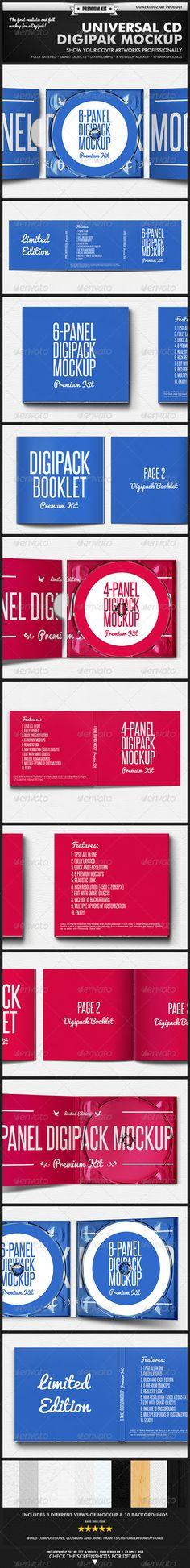 Digipak Templates - DVD Duplication | Disc Manufacturing
