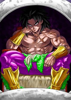 Broly the Legendary Super Saiyan Broly Fan Art, Otaku Anime, Dragon Ball Z, Character Art, Character Design, Gogeta And Vegito, Manga Dragon, Super Saiyan, Simple Art