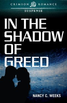 Awesome cover for my debut novel, IN THE SHADOW OF GREED.  While cryptologist, Dr. Sarah Tu tries to block a botnet, her sister is attacked and left in a coma. Detective Jason McNeil can't ignore the victim's voice in his head. When a ruthless cybercriminal holds him at gunpoint, Sarah must choose between protecting national security or the man she loves. http://amzn.to/1FQmKbs