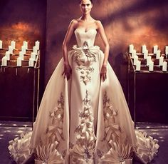 Ezra Couture wedding dress