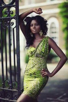 Print One Shoulder Dress