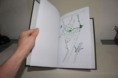 Drawing Ink Artist Book Art SAMMENZU - Künstlerbuch von Susanne Haun und Jürgen Küster