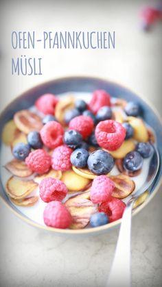 Delicious Dinner Recipes, Vegan Breakfast Recipes, Healthy Dessert Recipes, Yummy Snacks, Clean Eating Breakfast, Breakfast For Kids, Breakfast Cereal, Muesli, Food Film