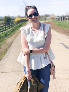 Sharing a new blouse from Target that's perfect for Spring & Summer // Helen Loves