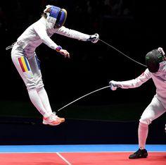 Escrime : Le coup final pour gagner la médaille d'or (JO 2016)