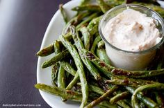 Come see these awesome Roasted Green Bean fries! Yum!
