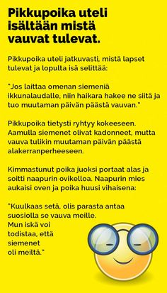 Vitsit: Pikkupoika uteli isältään mistä vauvat tulevat - Kohokohta.com Crazy Funny Memes, Wtf Funny, Funny Quotes, Hilarious, Language Quotes, Beautiful Pictures, Mood, Comics, Funny Phrases