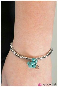 Little House on the Prairie - blue bracelet