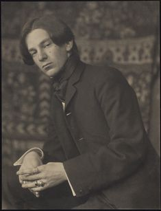 Alvin Langdon Coburn, photograph by Gertrude Käsebierca, 1907 History Of Photography, Vintage Photography, Print Image, Crop Pictures, Face Sketch, Alessandro Michele, Photographs Of People, Portrait Photographers, Portraits