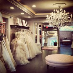 I am looking forward to Joi trying on dresses at Hyde Park Bridal.