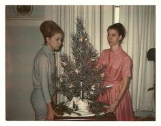 Trudy and Enid were having such a merry Christmas they could hardly contain themselves.