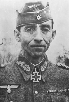 Portrait of XIV Panzer Corps commander Lieutenant General Fridolin von Senger und Etterlin, (1891-1962). During the Battle of Monte Cassino in Italy, von Senger und Etterlin was responsible for the very successful defence of the Gustav Line, which included Monte Cassino. The German position was only broken by the Allies in May, 1944.