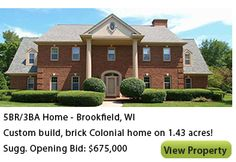 Real Estate Time-Limited Events Property Marketing and Global Exposure Estate Auctions, Real Estate Auction, Commercial Real Estate, Coupons, Brick, Knowledge, Thoughts, Mansions, House Styles