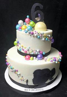 Bubble Cake, Bubble Party, 8th Birthday, Birthday Cake, Cake Decorations, Biscuit, Bubbles, Cakes, Baking