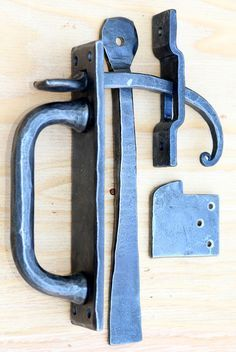 Morris L Hallowell IV Door Latch