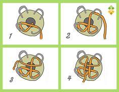 Para realizar un cordón con el tricotín, vamos a necesitar: – Tricotín – Un resto de lana (la cantidad que se gasta es muy pequeña) – 1 ganchillo mediano (del 4, p. ej., el número…