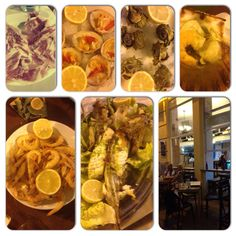 Nice tip for a really good fresh fish and seafood restaurant at Malaga Spain is Canela Fina Marina top!