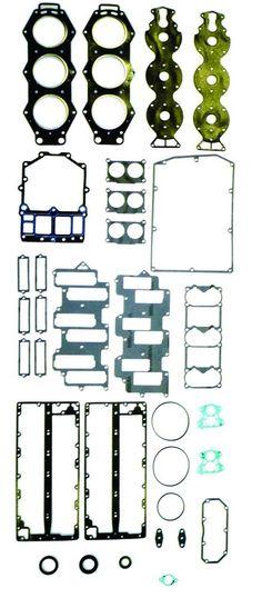 27-814195A WSM Mercury Mariner 225 250 3.0L Carbuertor EFI Gasket Kit 500-242