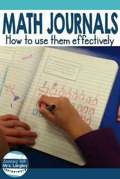 Using math journals in kindergarten and first grade is an interactive way to cover many of common core standards and mathematical practices. Students solve word problems using manipulative and showing their learning in a more abstract way. These work grea