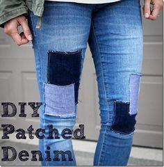 DIY-Patched-Denim-ONElittleMOMMA