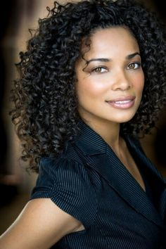 Rochelle Aytes curl crush. Curls are always in style <3
