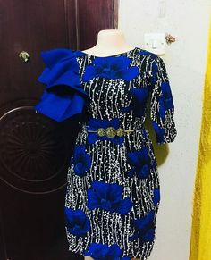Beautiful, Classic But Simple Ankara Styles For You Short African Dresses, Ankara Short Gown Styles, Kente Styles, Latest African Fashion Dresses, African Print Dresses, African Print Fashion, Africa Fashion, Ankara Gowns, Ankara Skirt