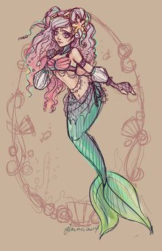 The Little Mermaid by Jennifer Vaiano [©2013]
