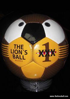 Balón modelo Classic www.thelionsball.com