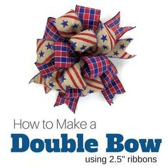 9 Ways to Make a Bow Gift! Excellent tutorials for different boswIMake a Bow! And, I've taken the liberty of dividing into separate mini videos so that you can quickly and easily locate the instructions you need. Diy Bow, Diy Ribbon, Ribbon Crafts, Ribbon Bow Tutorial, Ribbon Flower, Wreath Tutorial, Flower Tutorial, Fabric Flowers, Bow Making Tutorials
