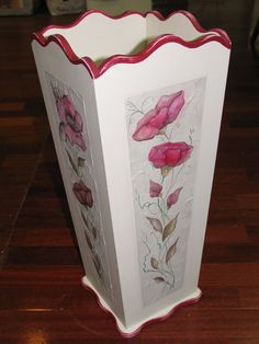Decoupage, Cement Flower Pots, Tole Painting, Tissue Boxes, Diy Home Decor, Textiles, Story Prompts, Ceramics, Decorated Boxes