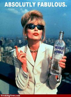 Joanna Lumley as Pats - Absolutely Fabulous