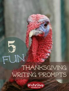 5 Fun Thanksgiving Writing Prompts | Take a little break from regular writing lessons and let them choose one of these clever creative writing prompts.