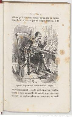 Histoire de l'admirable Don Quichotte de la Manche / par Cervantès de Saavedra ; illustrée... par Bertall et Forest | Gallica